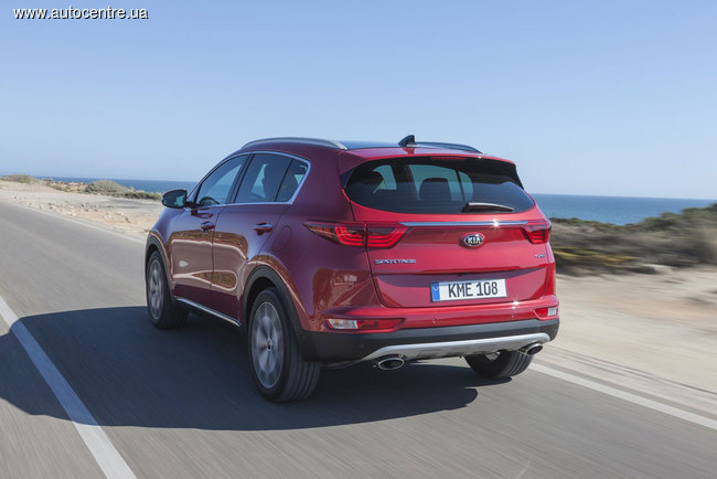 Новый Kia Sportage появится в Украине с эксклюзивным пакетом GT Line