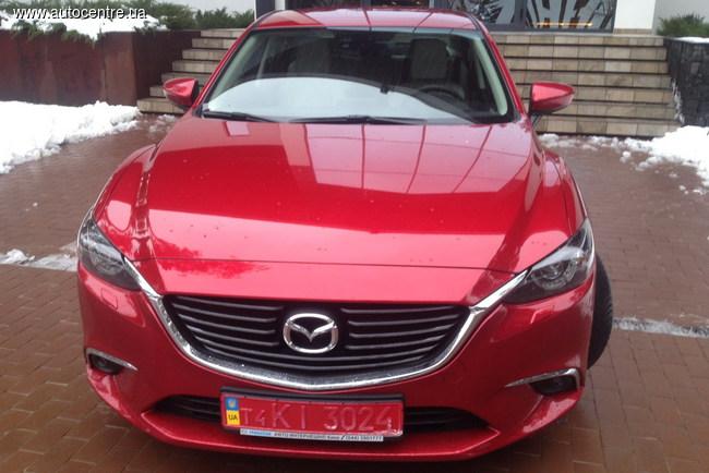 В Украине представили новую Mazda 6 с дизелем