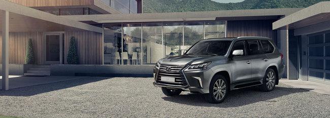 Новый Lexus LX уже можно заказать в Украине