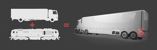 Революционный грузовик - Rail-Road Vehicle
