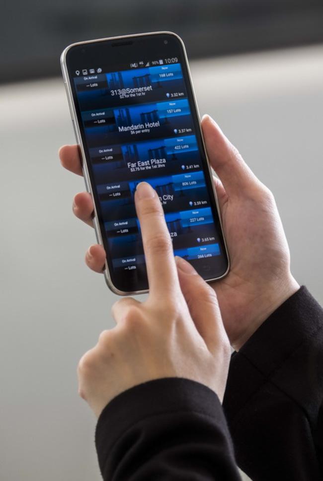 приложение для смартфонов Park & GoSG от Continental