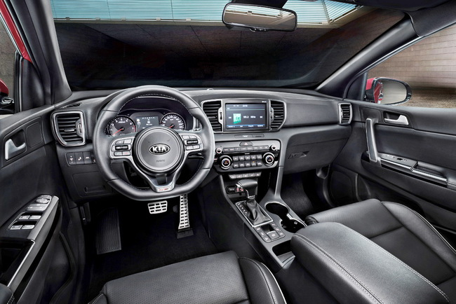 Kia Sportage четвертого поколения