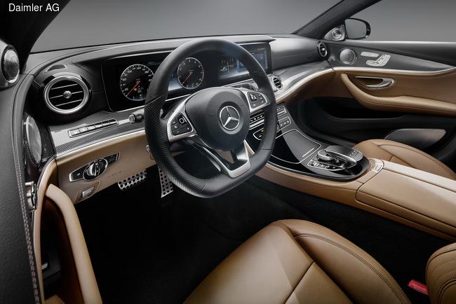 Mercedes-Benz E-Class получил революционный дизайн салона