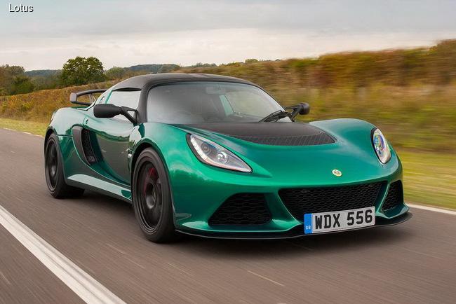 Lotus презентовал новый Exige Sport 350