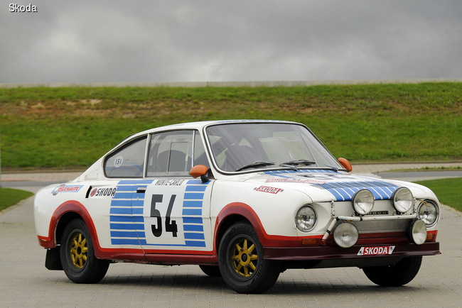 Skoda 130 RS отмечает 40-летний юбилей