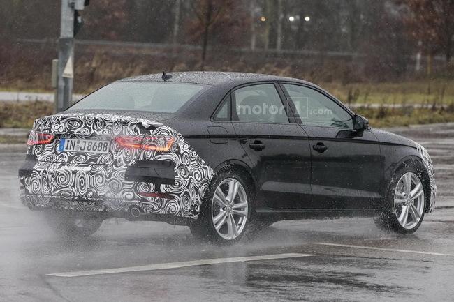 Audi готовит плановый ресталинг седана A3