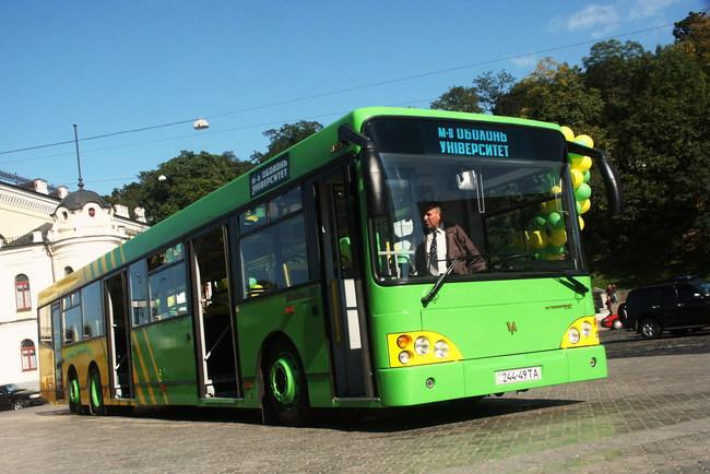 Малосерийный трехосный автобус «Богдан» А231