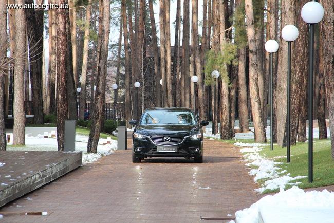 Mazda6: Гран-туризмо, как он есть