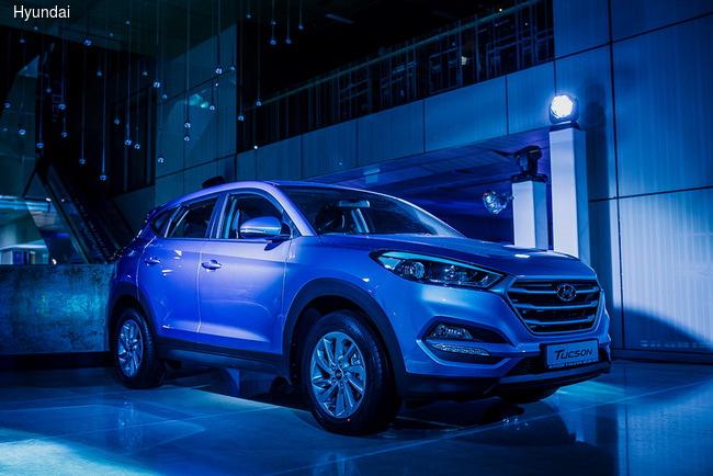 Новый Hyundai Tucson прибыл в Украину
