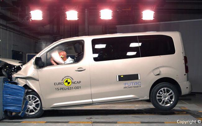 Euro NCAP разбил Peugeot Traveller (+ВИДЕО)