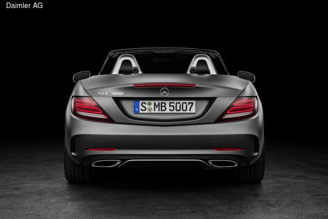 Mercedes-Benz SLC дебютирует в Детройте