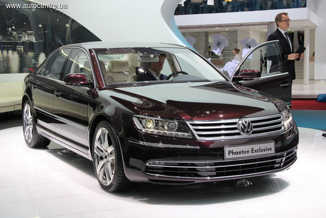 Volkswagen Phaeton уходит на пенсию