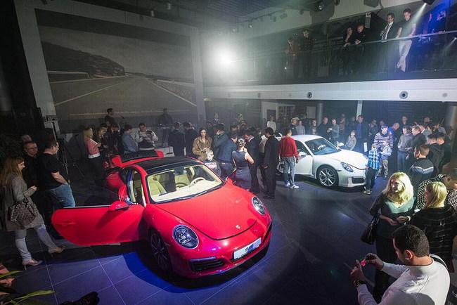 В Украине презентована новая генерация Porsche 911