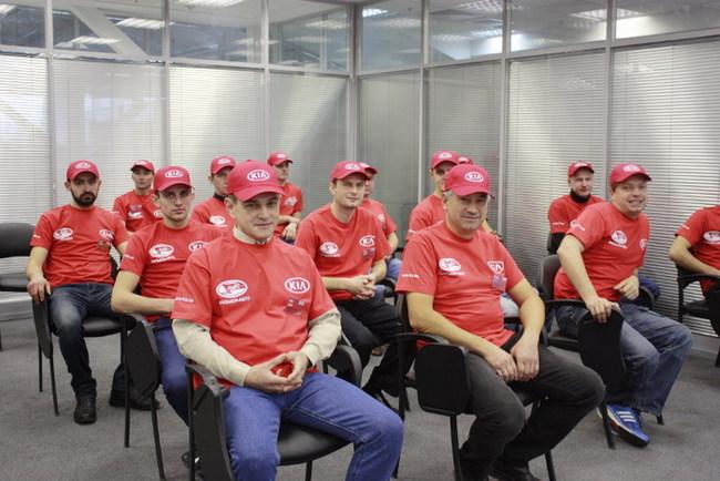 Kia в Украине определила имена лучших специалистов по диагностике автомобилей
