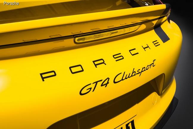Porsche Cayman GT4 Clubsport готов к бою (+ВИДЕО)