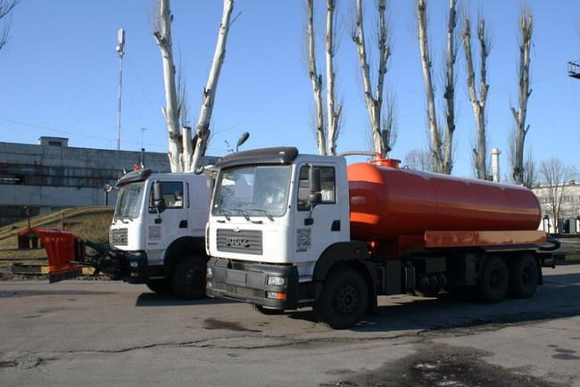 Днепропетровск получил коммунальные КрАЗы