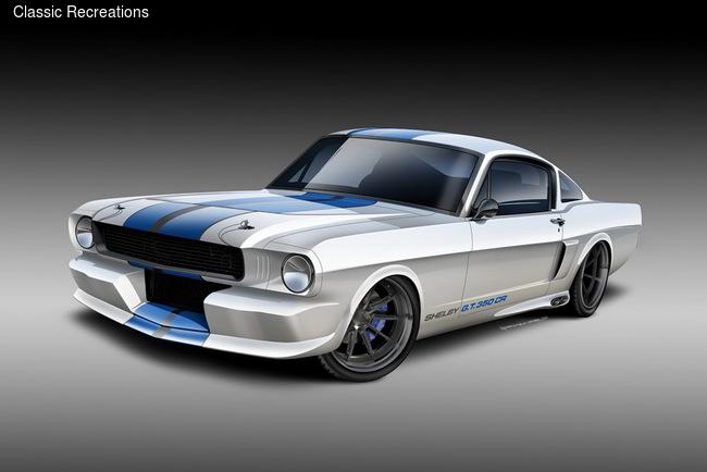 Классические Ford Mustang современные получат турбомоторы