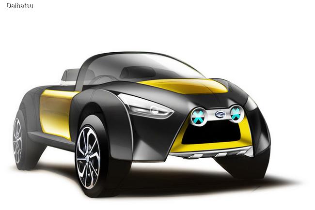 Daihatsu экспериментирует с моделью Copen
