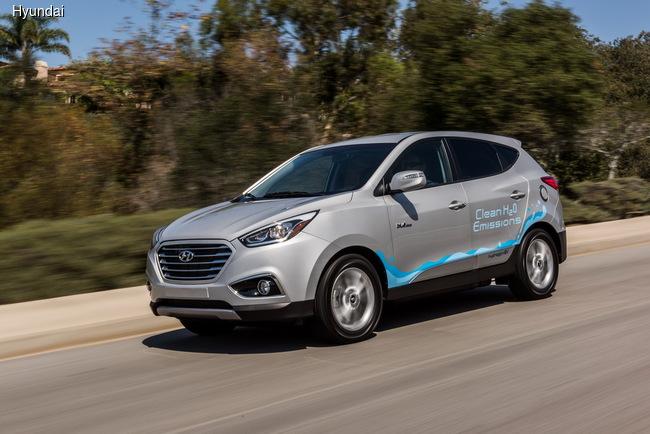Hyundai работает над перспективным водородным кроссовером