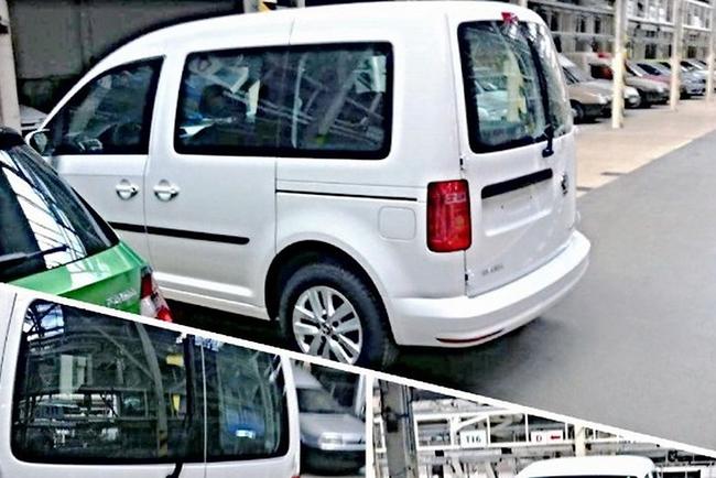 Volkswagen Caddy превратится в Skoda Roomster