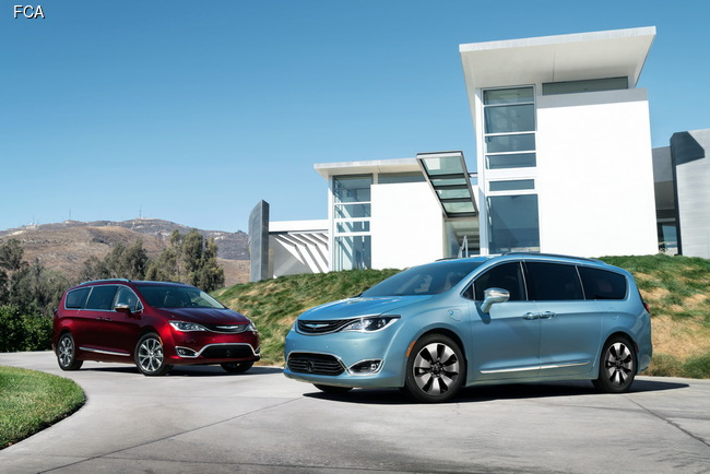 Chrysler возродил модель Pacifica