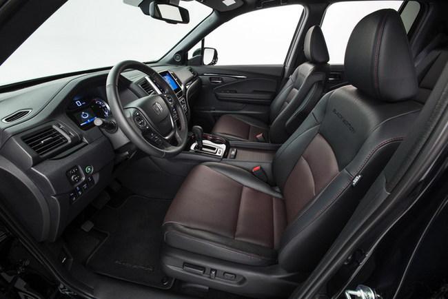 Новый  пикап Honda Ridgeline  засветился в Детройте