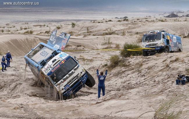 «Дакар 2016»: КАМАЗ в шаге от поражения