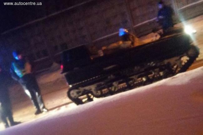 Полиция Харькова задержала необычный транспорт