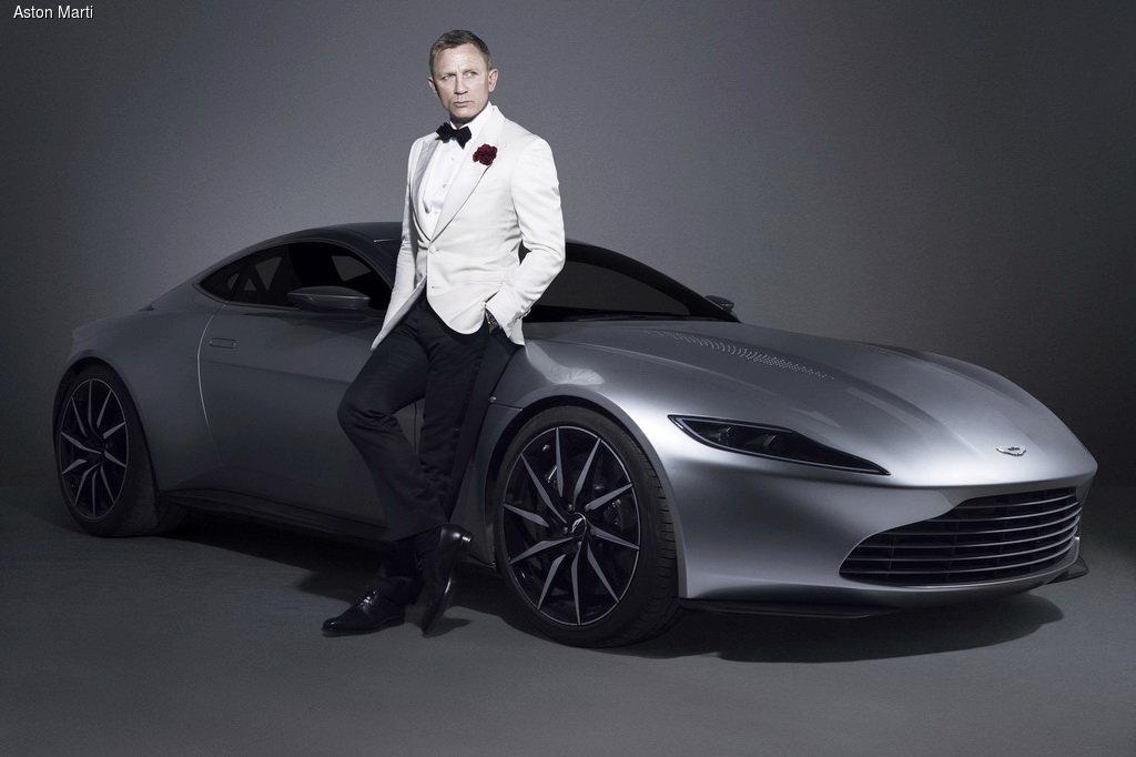 Aston Martin DB10 Джеймса Бонда уйдет c молотка(+ВИДЕО)