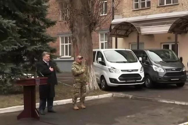 Спецназ НАБУ  получил новенькие Ford и не только