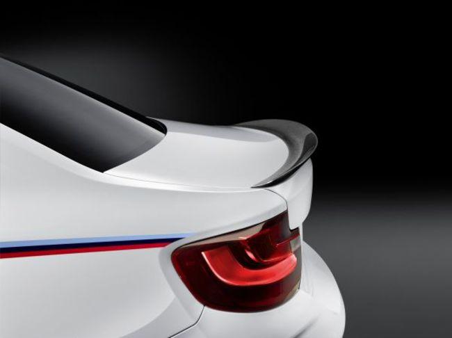 Новая линейка аксессуаров BMW M Performance для BMW M2 Сoupe