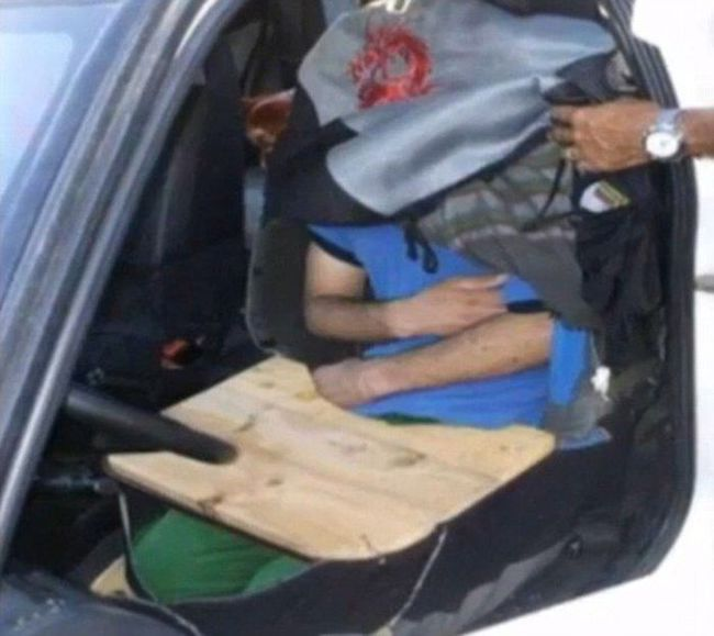 Невероятные тайники для нелегалов в автомобиле