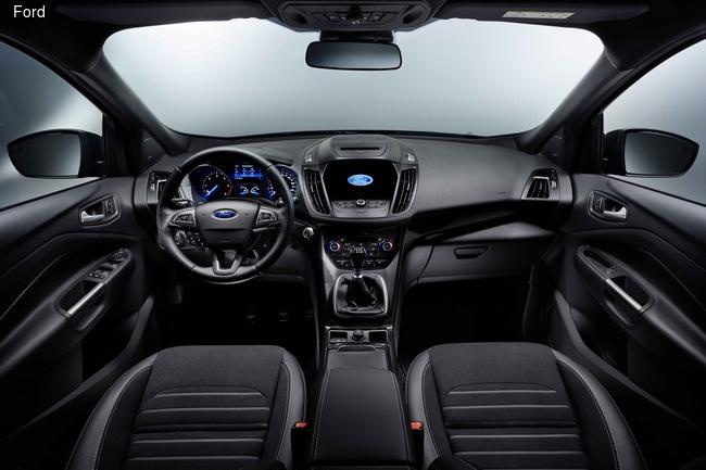 Ford привезет в Женеву обновленный кроссовер Kuga
