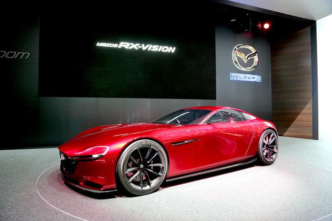 Женевский автосалон 2016: Mazda RX-Vision