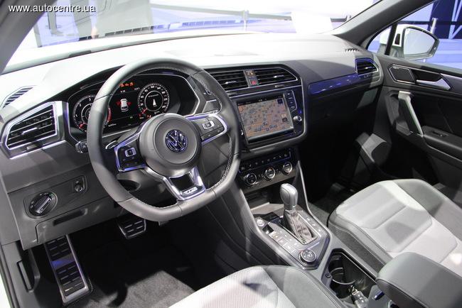 Женевский автосалон 2016: новый Volkswagen Tiguan