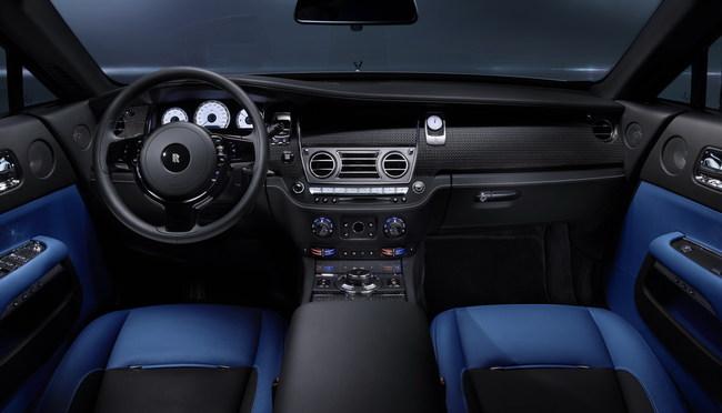 Женевский автосалон 2016: Rolls-Royce Black Badge