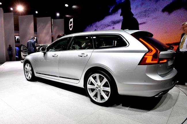 Женевский автосалон 2016: Volvo V90 и Volvo V40