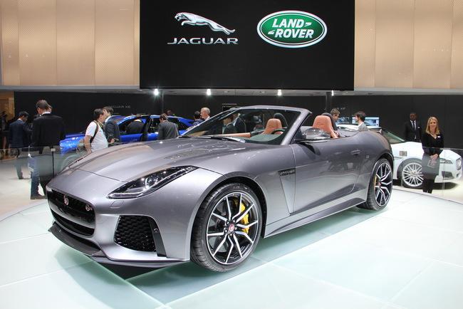 Женевский автосалон 2016: Jaguar F-Type SVR