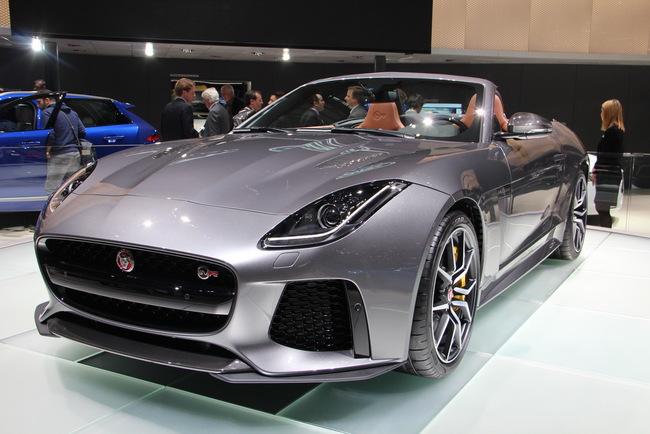 Женевский автосалон 2016: Jaguar F-Type SVO