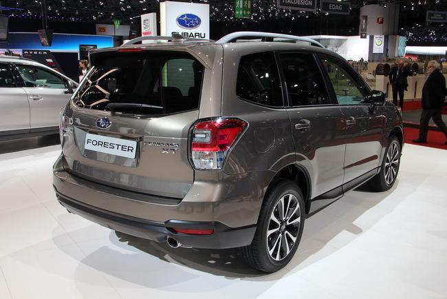 Женевский автосалон 2016: обзор новинок Subaru