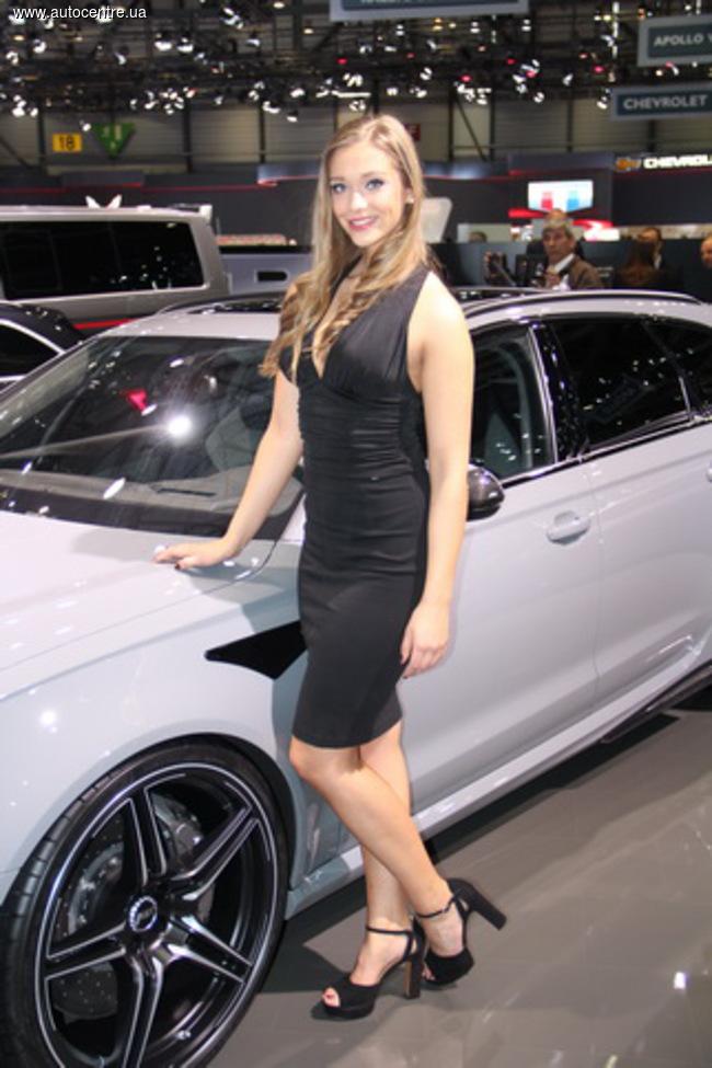 Женевский автосалон 2016: девушки