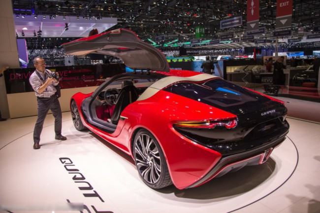 Женевский автосалон 2016: революционный суперкар Quant FE
