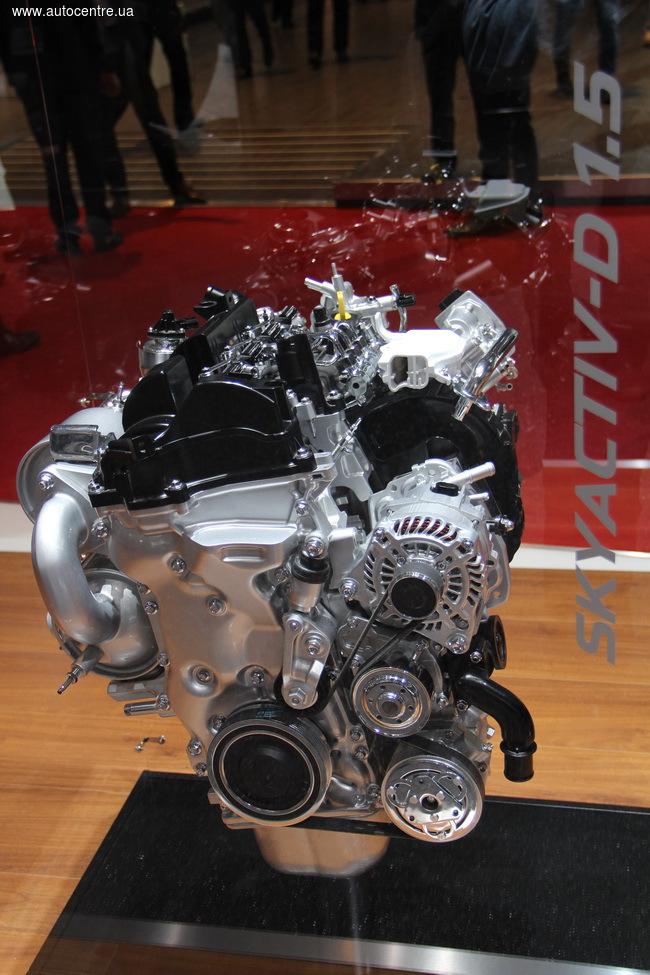 Женевский автосалон 2016: Mazda представила новый дизель