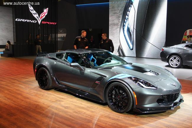 Женевский автосалон 2016: Chevrolet расширяет семейство Corvette