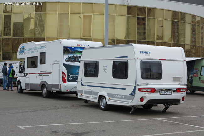 Автодома на выставке «Караван Экспо» в Киеве (+ВИДЕО)