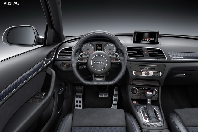 Женевский автосалон 2016: Audi RS Q3 прибавил в мощности