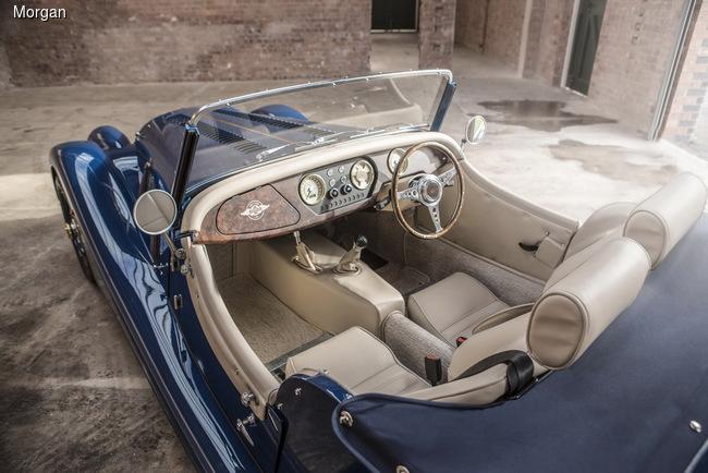 Женевский автосалон 2016: Morgan отмечает 80-летие производства модели 4/4