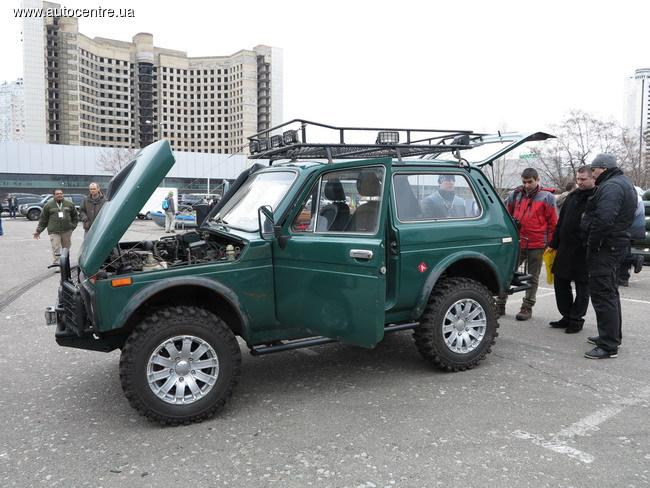 Киевские умельцы создали интересные автомобили для охоты и рыбалки