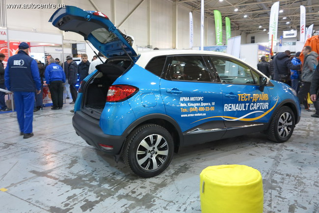 На стенде Renault