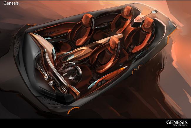 Нью-Йоркский автосалон 2016: Genesis презентовал эффектный концепт